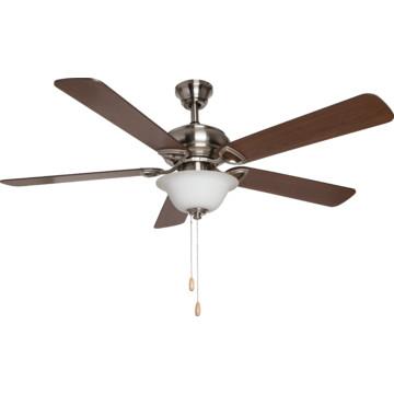 "Seasons 52"" Dual Mount Ceiling Fan Brushed Nickel LED"