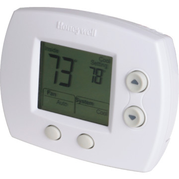 honeywell 24 volt digital heat pump thermostat hd supply. Black Bedroom Furniture Sets. Home Design Ideas