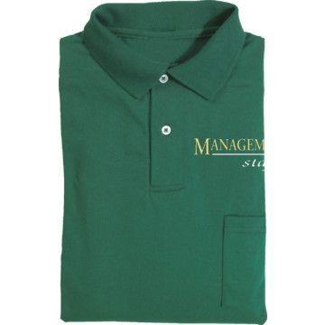 Men 39 s forest green polo shirt with pocket for management for Forest green polo shirts