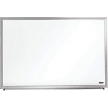"Foray Aluminum-Framed Dry-Erase Board With Marker, 48"" x"
