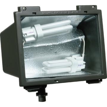 outdoor fluorescent floodlight 26 watt black hd supply. Black Bedroom Furniture Sets. Home Design Ideas