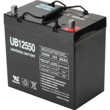 12v 55ah lead acid medical mobility battery hd supply. Black Bedroom Furniture Sets. Home Design Ideas