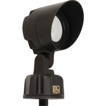 lithonia lighting led bronze bullet floodlight 11 watt 120 277 volt. Black Bedroom Furniture Sets. Home Design Ideas