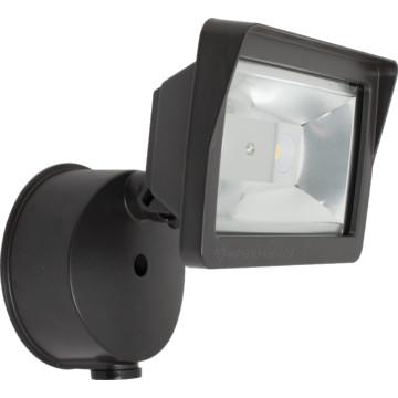 led bronze flood light 18 watt photocell hd supply. Black Bedroom Furniture Sets. Home Design Ideas