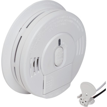 firex direct wire in ionization smoke alarm with 9v. Black Bedroom Furniture Sets. Home Design Ideas