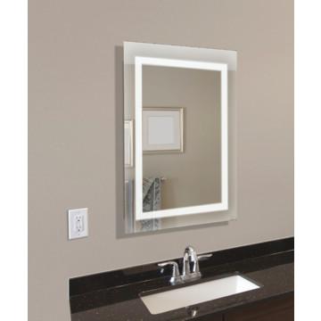 Mirror, Illuminated LED Lights, Slim Design Metal Cabinet,