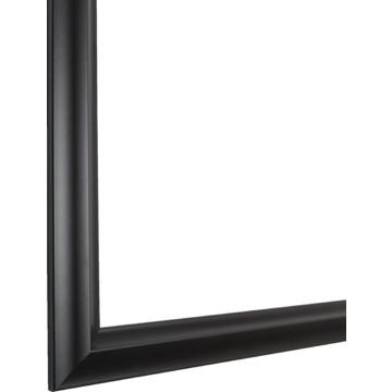 30 x 36 satin black mirror frame kit hd supply for Mirror 30 x 36