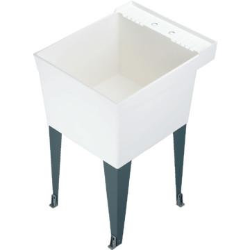 Mustee Laundry Tub : El Mustee Single Bowl Utility Tub HD Supply