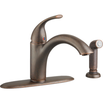 Aspen Pisa Kitchen Faucet Brushed Nickel Two Handle With