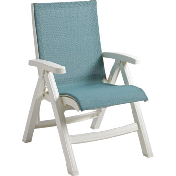 how to clean white grosfillex chairs