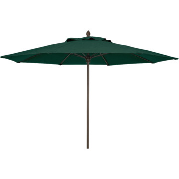 9 Lucaya Wind Resistant Contract Patio Umbrella Champagne