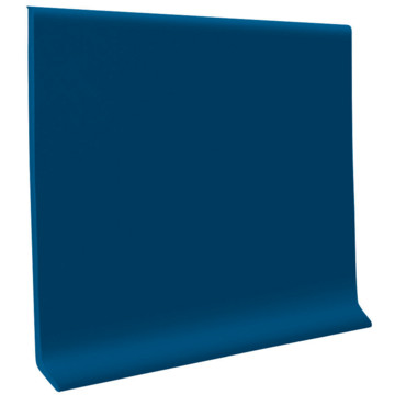 Roppe 700 Series Cove Base 4x4 Blue Carton Of 30 Hd Supply