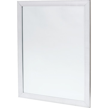 30 x 36 cross hatched silver framed mirror hd supply for Mirror 30 x 36