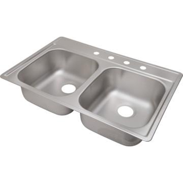 aspen 33 x 22 quot bowl stainless steel kitchen sink 4