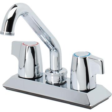 moen laundry faucet chrome 2 handle sani stream hd supply