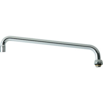 Chicago Faucets Chrome 14 Swing Spout Assembly Hd Supply