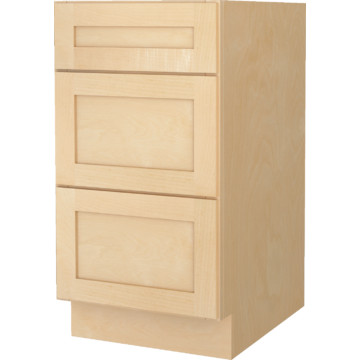 Seasons 18w x 32 1 2h x 21 natural maple vanity drawer for 21 inch deep kitchen cabinets