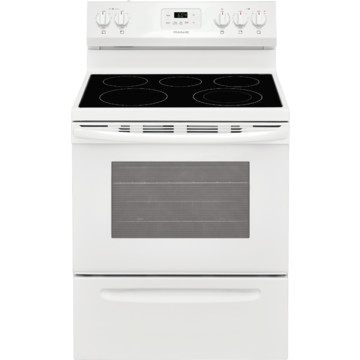 frigidaire 30 smooth top electric range white hd supply. Black Bedroom Furniture Sets. Home Design Ideas