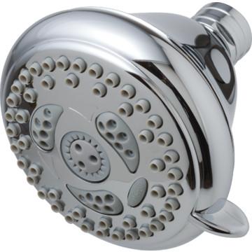 waterpik chrome water conserving massage showerhead 20 gpm