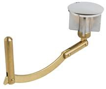 Bathtub Drain Linkage And Stopper Brass 1 3 4 Diameter HD Supply