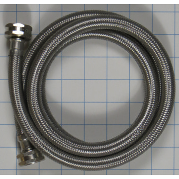pro stainless steel 5 foot braided washer fill hose hd supply. Black Bedroom Furniture Sets. Home Design Ideas