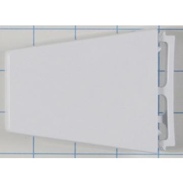 whirlpool refrigerator door shelf end cap right hand hd. Black Bedroom Furniture Sets. Home Design Ideas