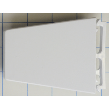 whirlpool refrigerator door shelf end cap left hand hd. Black Bedroom Furniture Sets. Home Design Ideas