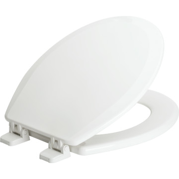 Centoco Wood Elongated Toilet Seat Plastic Over Wood Core Extends Useful Lif