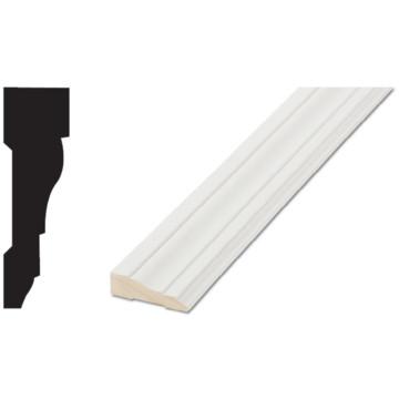 366 11 16 x 2 1 4 x 7 39 primed finger jointed door window for 1 x 4 window casing