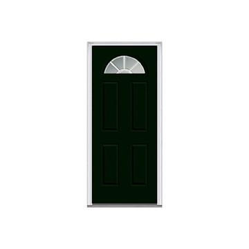 30x80 flush interior prehung right hand flat jamb hd supply - 32x80 exterior door rough opening ...