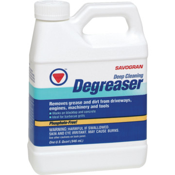 1 quart savogran driveway cleaner and degreaser hd supply for Patio cleaning solution