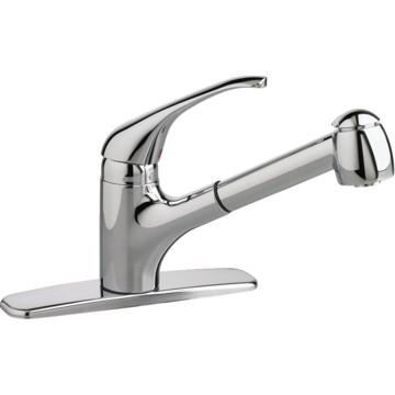 american standard reliant kitchen faucet chrome 1 handle