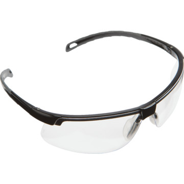 Eyeglass Frame Paint Repair : Pyramex Ever-Lite Safety Eyewear Black Frame With Clear ...