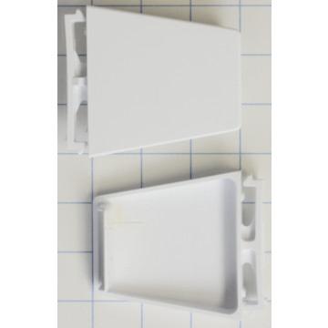 whirlpool refrigerator door shelf end cap kit hd supply. Black Bedroom Furniture Sets. Home Design Ideas