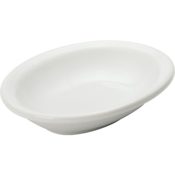 Ceramic Oval Soap Dish White Case Of 12 Hd Supply