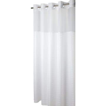 Hookless Madison Shower Curtain 71 X 74 White Case Of 12 Hd Supply