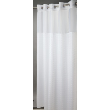 Hookless Madison Shower Curtain 71 X 77 White Case Of 12 Hd Supply