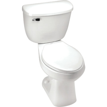 Mansfield Quantum Pressure Assist Elongated Ada Toilet