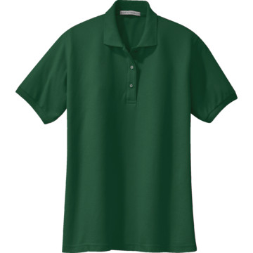 Lastest Women Polo Shirt Dark Greenwomen Polo Shirtclothing Manufacturer