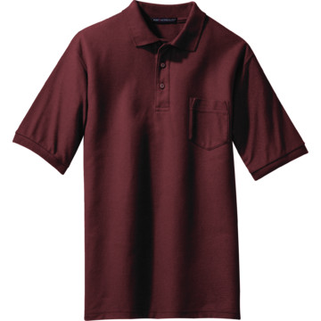 men 39 s burgundy custom polo shirt with pocket 3xl hd supply