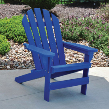 adirondack chair blue recycled plastic hd supply
