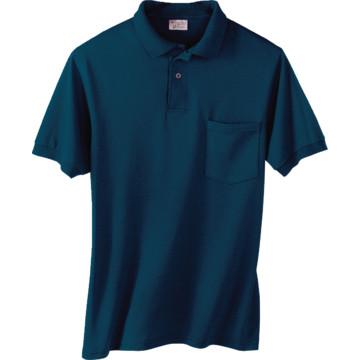 Men 39 s custom screen printed short sleeve polo shirt w for Screen printed polo shirts