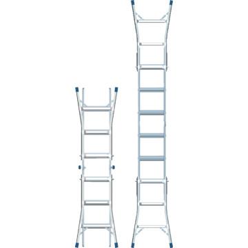 17 Louisville Ladder Multipurpose Articulated Ladder Hd