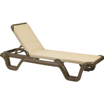 Grosfillex marina chaise lounge bronze package of 2 hd - Grosfillex chaise longue ...