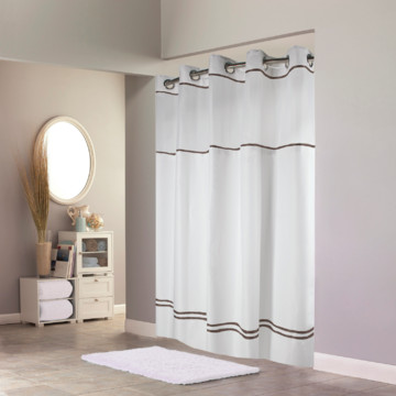 Polyester 74 Inch Shower Curtain | HD Supply