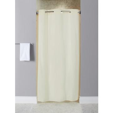 Hookless 10 Gauge Stall Size Vinyl Shower Curtain Beige Case Of 12 Hd Supply