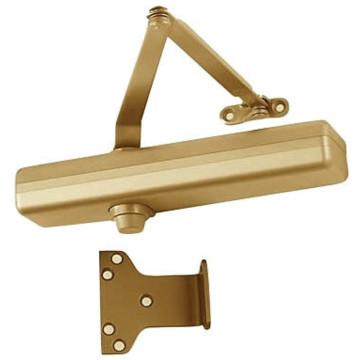 Lcn surface door closer brass finish hd supply for 1461 lcn door closer