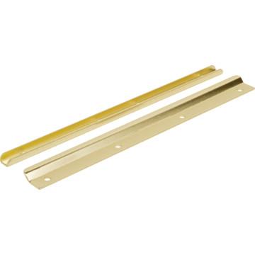 Brass swinging door fixtures